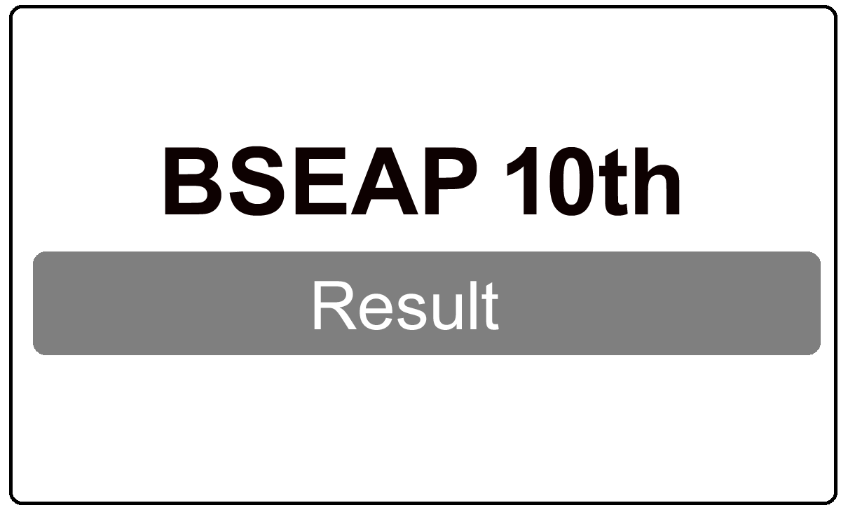 BSEAP 10th Result 2022