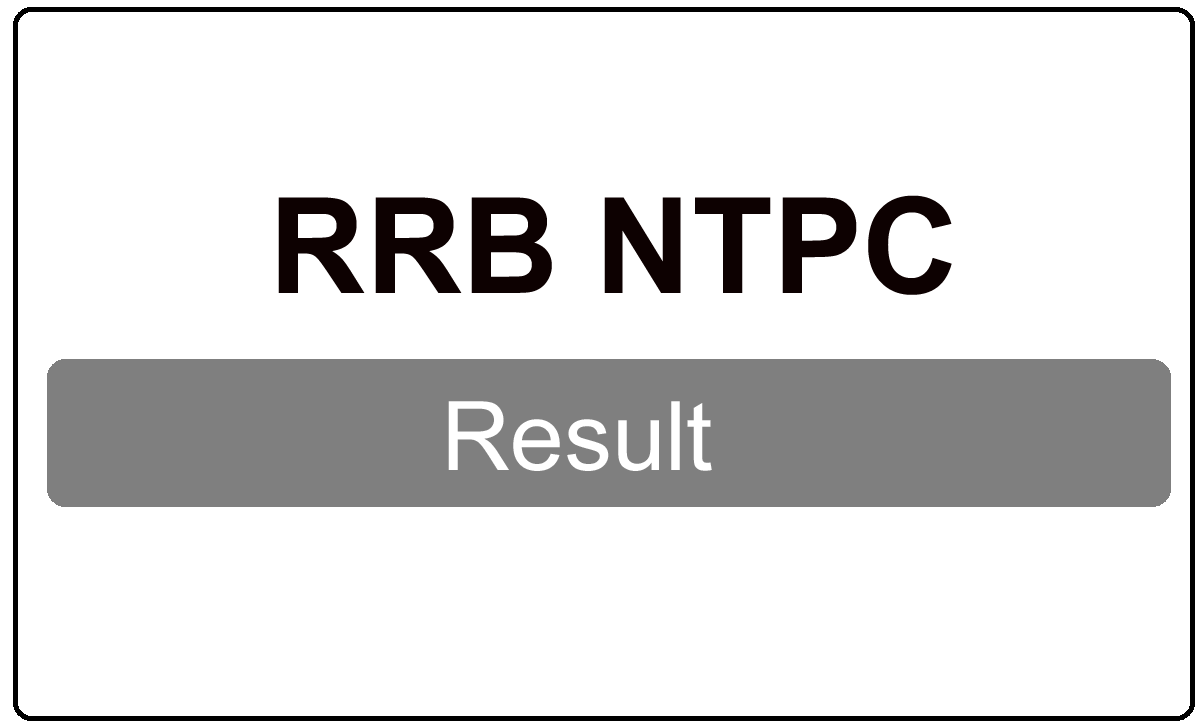 RRB NTPC Result 2022